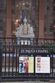 St Pauls Chapel in New York — Stock Photo