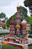 Kremlin Replica at Mini Siam in Pattaya — Stock Photo