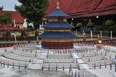 Temple of Heaven Replica at Mini Siam in Pattaya — Stock Photo