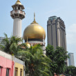 Sultan Mosque in Singapore — Stock Photo #14170848
