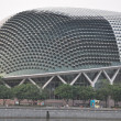 Esplanade Theatres on the Bay Concert Hall (nicknamed Durian) — Stock Photo