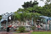 Haw Par Villa gardens in Singapore — Stock Photo
