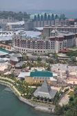 View of Sentosa island in Sentosa, Singapore — Stock Photo