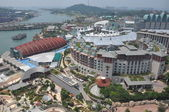 View of Sentosa island in Sentosa, Singapore — Stock Photo
