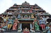 Templo hindu de sri mariamman em cingapura — Fotografia Stock