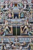 Sri mariamman hinduistycznej świątyni w singapurze — Zdjęcie stockowe