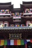 Templo de relíquia do dente de buda em cingapura — Fotografia Stock