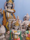 Marble Statues of Hindu Idols — Stock Photo