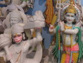 Marble Statues of Hindu Idols — Zdjęcie stockowe