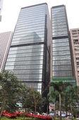 Skyscrapers in Hong Kong — Stock Photo