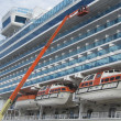 Foto de Stock  : Ruby Princess Cruise Ship