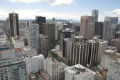 Aerial View of Vancouver — Stock Photo