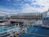 Ruby Princess Cruise Ship — Stock Photo