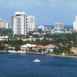 View of Fort Lauderdale - Stock Photo