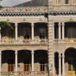 Iolani Palace in Oahu - Stock Photo