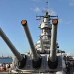 Постер, плакат: USS Missouri Battleship at Pearl Harbor