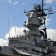 USS Missouri Battleship at Pearl Harbor — Stock Photo