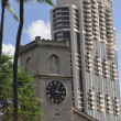 Stock Photo: Historic Kawaiahao Church in Hawaii