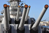USS Missouri Battleship at Pearl Harbor — Stockfoto