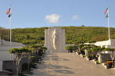 Punchbowl National Cemetery in Honolulu — Stock Photo