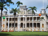 Iolani Palace in Hawaii — Stock Photo