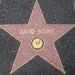 David Bowie's Star at the Hollywood Walk of Fame — Stock Photo #29285691