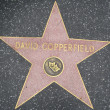 David Copperfield's Star at the Hollywood Walk of Fame — Stock Photo #29285795
