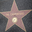 Carpenters' Star at Hollywood Walk of Fame — Stock Photo #29285805