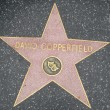 David Copperfield's Star at the Hollywood Walk of Fame — Stock Photo #29285823
