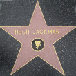 Hugh Jackman's Star at the Hollywood Walk of Fame — Stock Photo #29285845