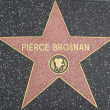 Pierce Brosnan's Star at the Hollywood Walk of Fame — Stock Photo #29285905