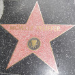 Michelle Pfeiffer's Star at the Hollywood Walk of Fame — Stock Photo