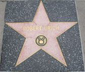Robert Urich hvězdu na Hollywood Walk of Fame — Stock fotografie