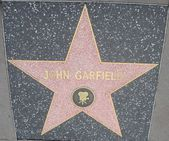 John Garfield's Star at the Hollywood Walk of Fame — Stockfoto