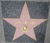 Jeff Bridge's Star at the Hollywood Walk of Fame — Stock fotografie