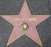 Chevy Chase's Star at the Hollywood Walk of Fame — Stock Photo