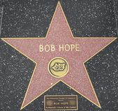 Bob Hope's Star at the Hollywood Walk of Fame — Stock Photo