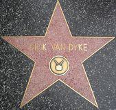 Dick Van Dyke's Star at the Hollywood Walk of Fame — Foto Stock