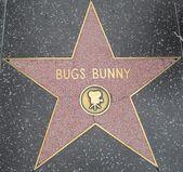 虫子小兔子的明星在好莱坞星光大道 — 图库照片