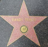 Randy Travis' Star at the Hollywood Walk of Fame — Stock Photo