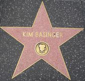 Kim Basinger's Star at the Hollywood Walk of Fame — 图库照片
