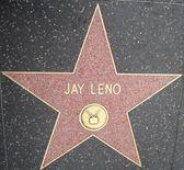 Jay Leno's Star at the Hollywood Walk of Fame — Stock Photo