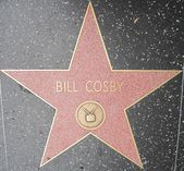 Bill Cosby's Star at the Hollywood Walk of Fame — 图库照片