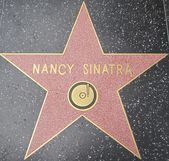 Nancy Sinatra's Star at the Hollywood Walk of Fame — 图库照片