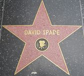 David Spade's Star at the Hollywood Walk of Fame — Stockfoto