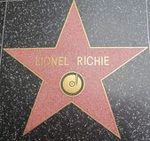 Lionel Richie's Star at the Hollywood Walk of Fame — Stock Photo