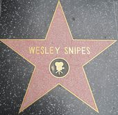 Wesley Snipes' Star at the Hollywood Walk of Fame — Stock Photo