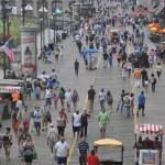 Atlantic City Boardwalk in New Jersey — Stock Photo #30888681