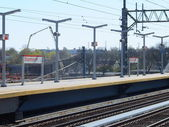 Stamford Metro-North Railroad station — Stock Photo