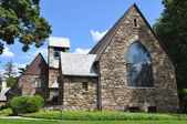 Union Church of Pocantico Hills in New York State — Stock Photo